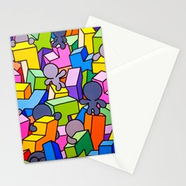 No rules Stationery Cards