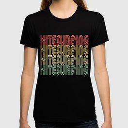 Kitesurfing Vintage Design T-shirt