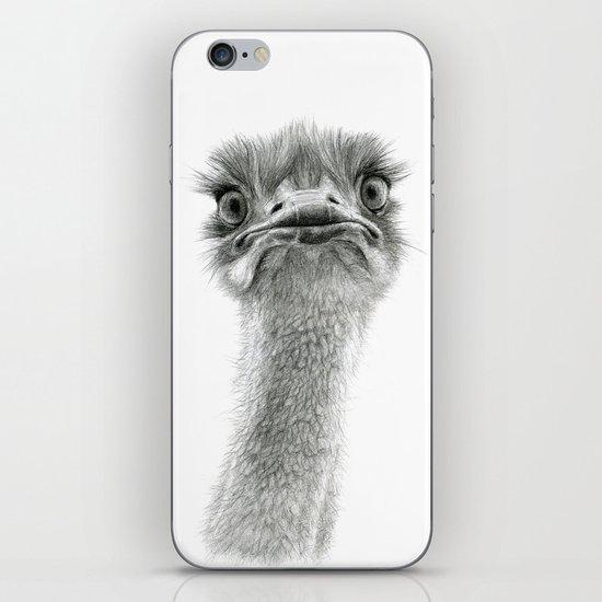 Cute Ostrich SK053 iPhone & iPod Skin