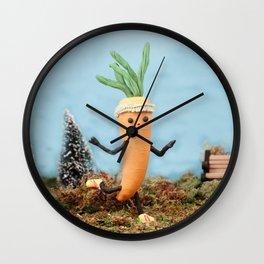 Get Fit! Wall Clock