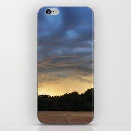 Sunrise Over Sparks, Oklahoma iPhone Skin