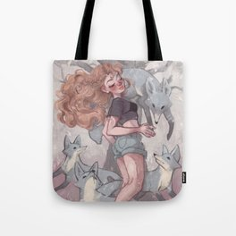 Lost in Dreamland: Land Tote Bag