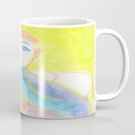 Spiritual Chalks Drawing of Pope Saint John Paul II Coffee Mug