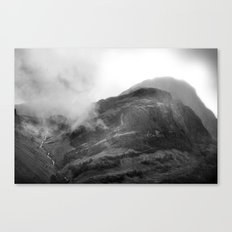Glencoe, Highlands, Scotland. Canvas Print
