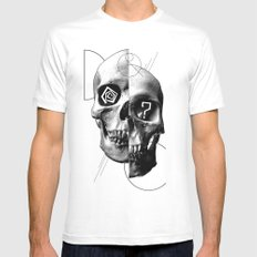 Dazed & Confused MEDIUM White Mens Fitted Tee