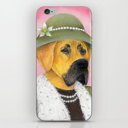 Great Dame iPhone Skin