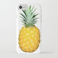 pinapple iPhone & iPod Cases featuring Big Pineapples by CumulusFactory