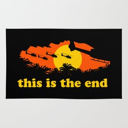 This is the end Rug