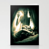 horror Stationery Cards featuring Horror by Joe Roberts