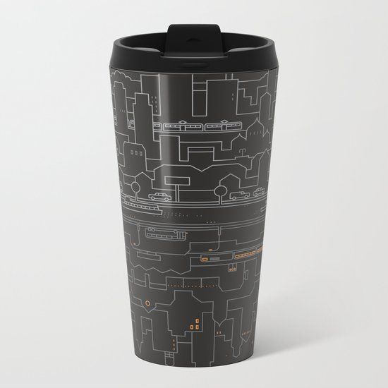 City 24 Metal Travel Mug