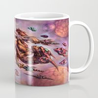 aries Mugs featuring Aries by David Bollt