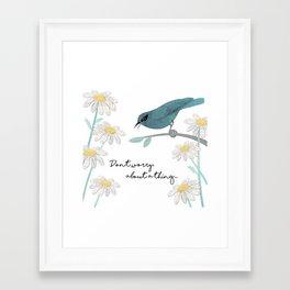 Three Little Birds, Part 1 Framed Art Print