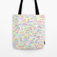 500 days of summer Tote Bags featuring (500) DAYS OF SUMMER by David