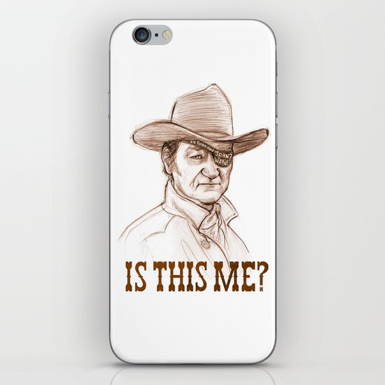 Is This Me? iPhone Skin