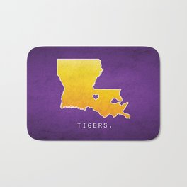 Louisiana State Tigers Bath Mat