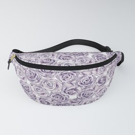 Watercolor roses blossom pattern Fanny Pack