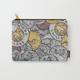 Canadian Coins Carry-All Pouch