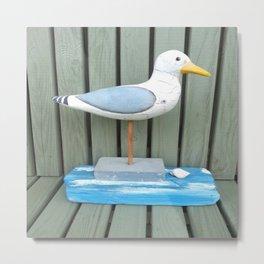 Sammy The Seagull Metal Print