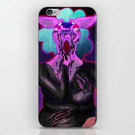 Open My Throat iPhone Skin