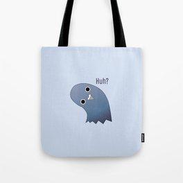 Cute Pigeon Illustration Tote Bag