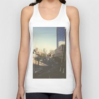 denver Tank Tops featuring Denver Dusk by danny_label