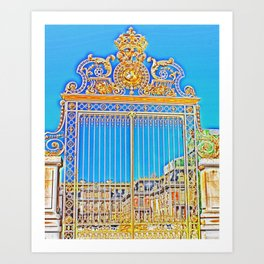 Gate to The King of The Sun Art Print
