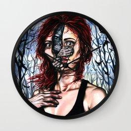 The sphynx inside me Wall Clock