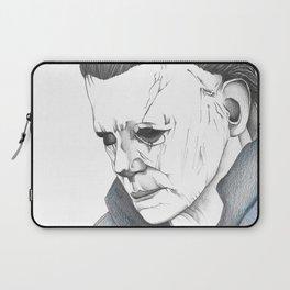 Happy Halloween, Michael Myers Portrait Laptop Sleeve