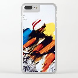 The Peace Race 1966 Clear iPhone Case