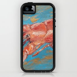 Magical lobster iPhone Case