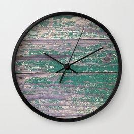 Vintage Timber Wall Clock