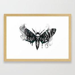 Death head hawkmoth Framed Art Print