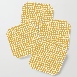 Dots / Mustard Coaster