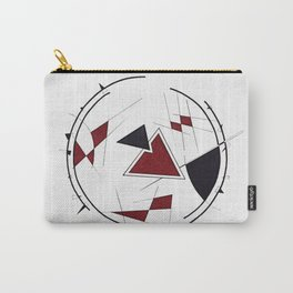 Geometric Composition number 5 Carry-All Pouch