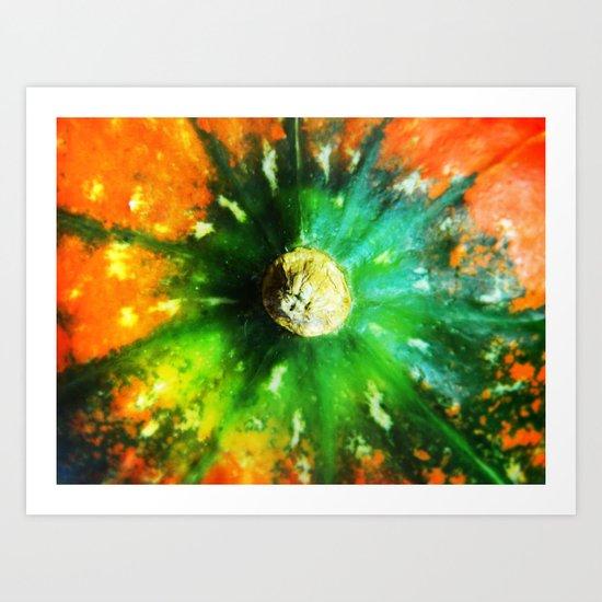 Pumpkin Tail Art Print