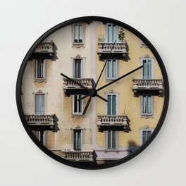 From my window Wall Clock