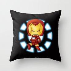 Chibi Ironman Throw Pillow