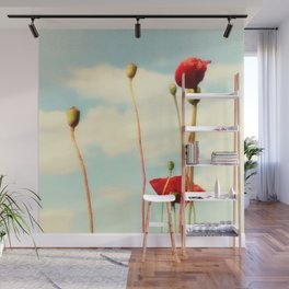 Lost Poppies Wall Mural