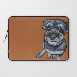 Frankie the Schnoodle Laptop Sleeve