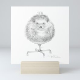 « David petit roi » Mini Art Print