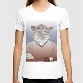 Sheepman crossing arms. T-shirt