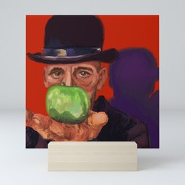 Rick, a la Magritte Mini Art Print