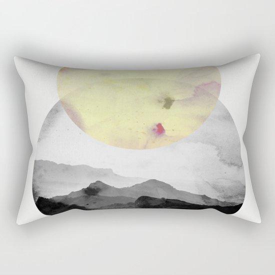 landscape montain nature Rectangular Pillow