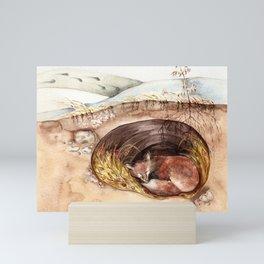 Fox's Den Mini Art Print