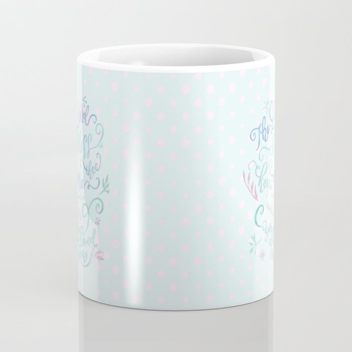 You Are Loved Mom - Number 6:24 - Polka dots Coffee Mug