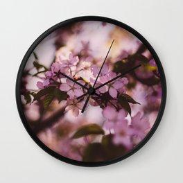 Beauty of Spring III Wall Clock