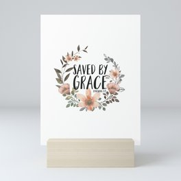 Saved By Grace Mini Art Print