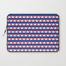 Paranoia (Blue and Red) Laptop Sleeve