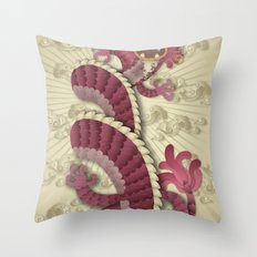 dragon delight Throw Pillow