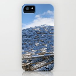 The Drive to Cardrona Ski Fields from Queenstown, New Zealand iPhone Case